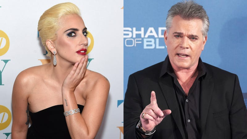 Lady Gaga and Ray Liotta | Images via Getty