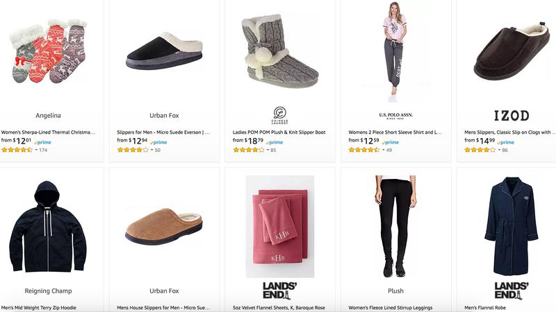 Gold Box de ropa de estar por casa   AmazonImagen: Amazon