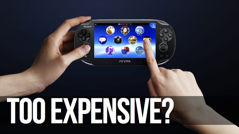 Illustration for article titled Why the PlayStation Vita Needs—But Won't Get—a Price Cut