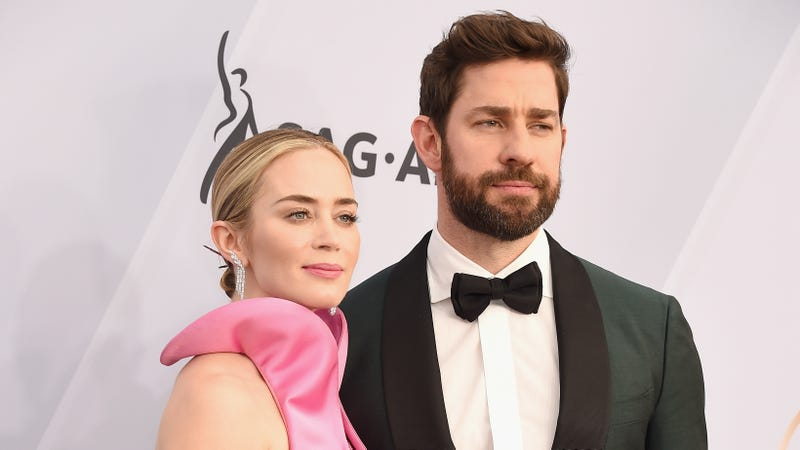 Illustration for article titled Emily Blunt and John Krasinski Were Never Going to Break Up Over A Quiet Place