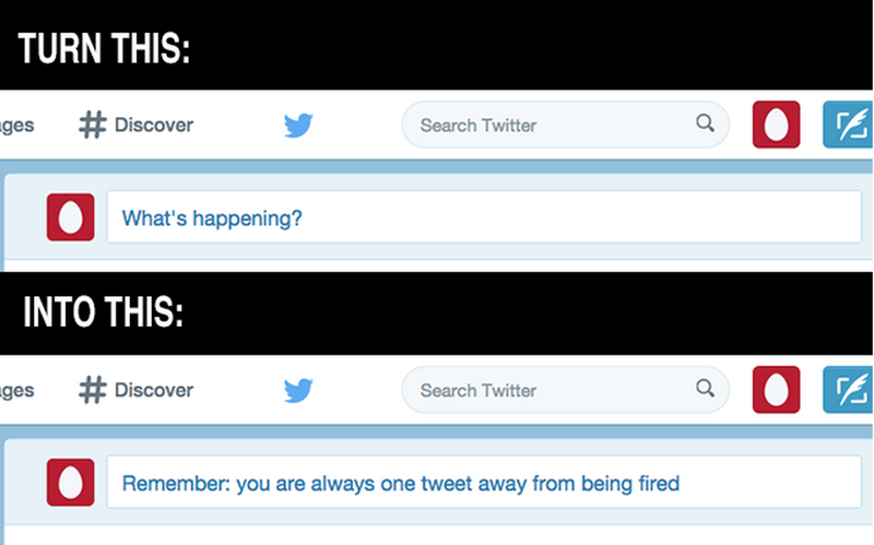 Illustration for article titled This Chrome Extension Reminds You to Stop Being Such a Dick on Twitter