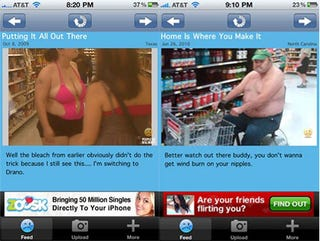 Illustration for article titled Warning: People of Walmart iPhone App