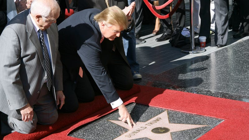 Trump and the star in happier times