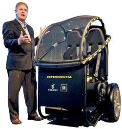 Illustration for article titled New GM-Segway Vehicle Coming