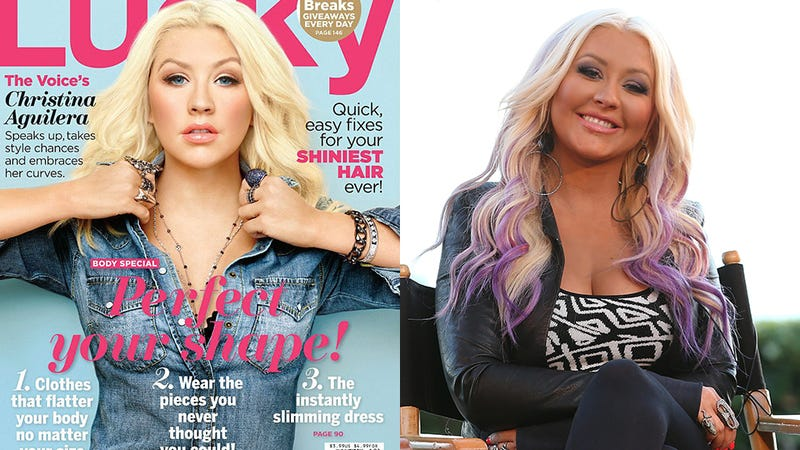 Illustration for article titled Christina Aguilera Gets a Breast Reduction from the Surgeons at Lucky