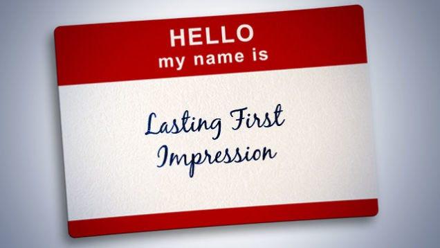 First impression essay