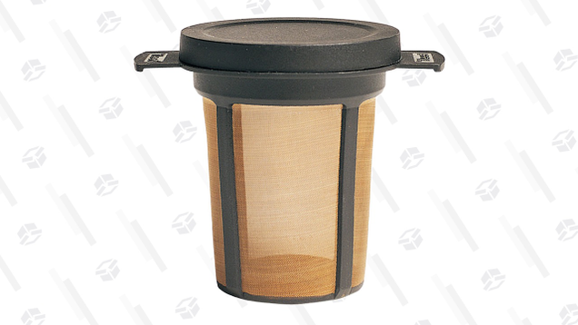 It won't make the best cup of coffee, but the Mugmate can turn basically any drinking vessel into a portable coffee maker.