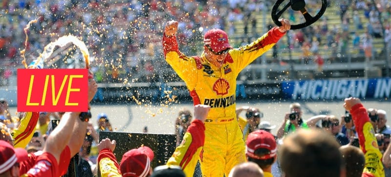 Illustration for article titled Ask NASCAR Ace Joey Logano Anything You Want