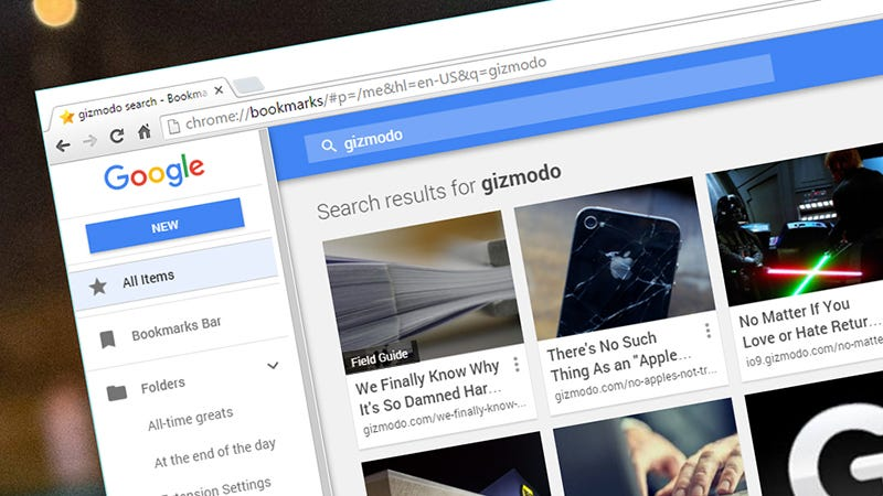Search Your Bookmarks in Chrome With This Hidden Feature