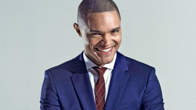 Illustration for article titled Trevor Noah's pre-TCA stand-up set shows that he just wants to be your teddy bear