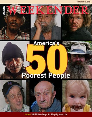 Illustration for article titled America's 50 Poorest People