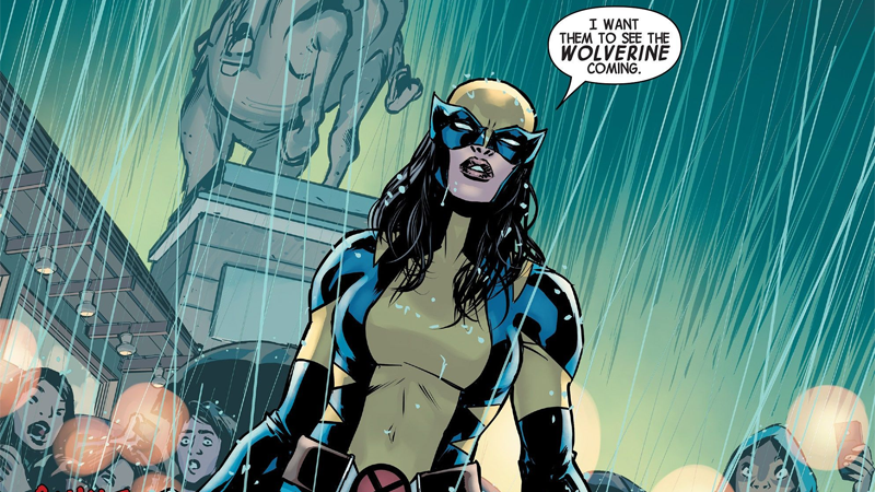 X-23 en los Cómics