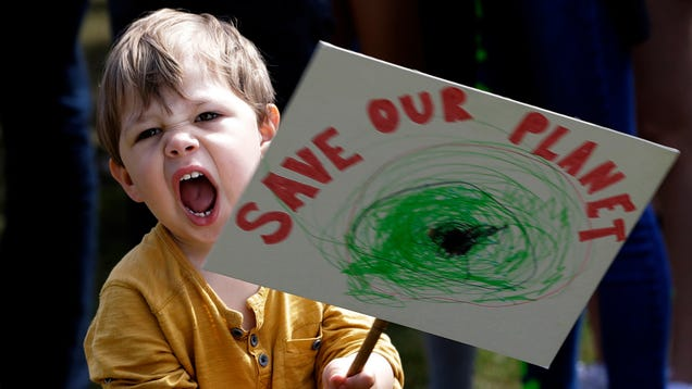 Kids Strike Around the World to Raise the Alarm on Climate Change
