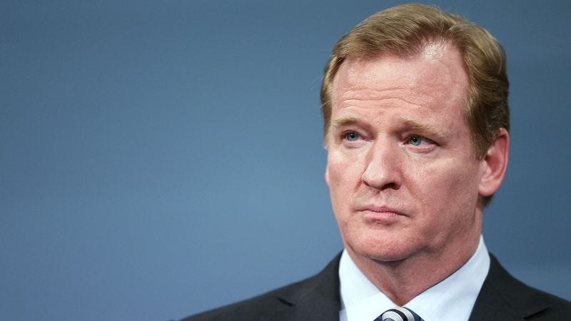 Illustration for article titled Roger Goodell Fired After Another .500 Season