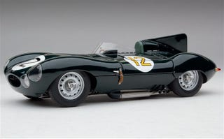 Illustration for article titled The Jaguar D-Type is the best looking Jag of all time.