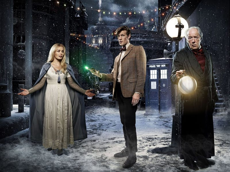 Illustration for article titled Doctor Who Christmas Episode promo pics