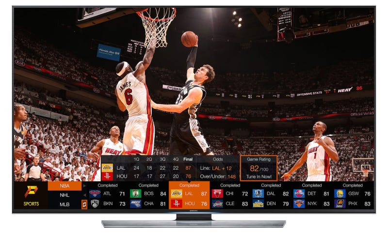 Illustration for article titled Samsung's Smart TVs Just Got a Pretty Sweet App (Finally)
