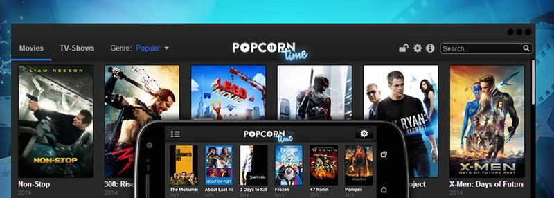 "Illustration for article titled Popcorn Time, el ""Netflix pirata"", ya tiene aplicación para iOS"