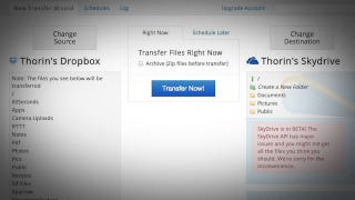 Mover io Transfers Your Files from One Cloud Service to Another