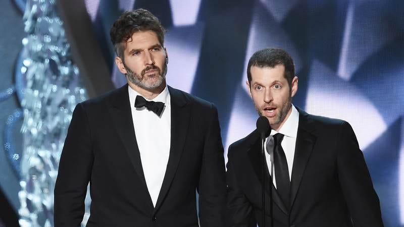 David Benioff and Dan Weiss, two of the four showrunners for HBO's recently announced Confederate. (Photo: Kevin Winter/Getty Images)