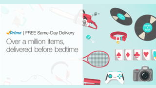 Illustration for article titled Amazon Now Offers Free Same-Day Delivery for Amazon Prime Members
