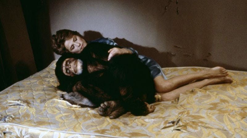 Illustration for article titled In high society, there are worse indiscretions than having sex with a chimp