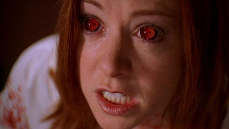 """Illustration for article titled Buffy / Angel: """"Seeing Red""""/""""Benediction"""""""