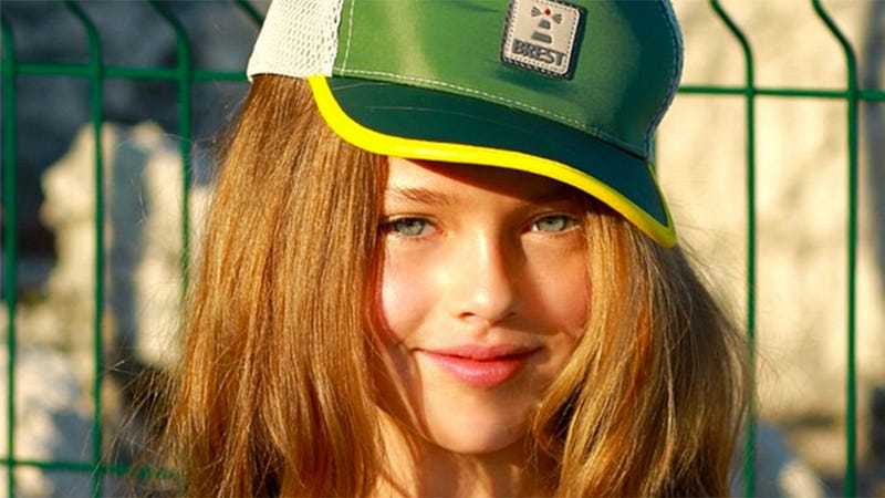 Illustration for article titled This 9-Year-Old Is the World's Most Controversial Supermodel