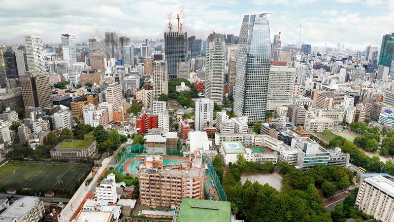 Visita cada rincón de Tokio en esta panorámica de 150 gigapíxeles