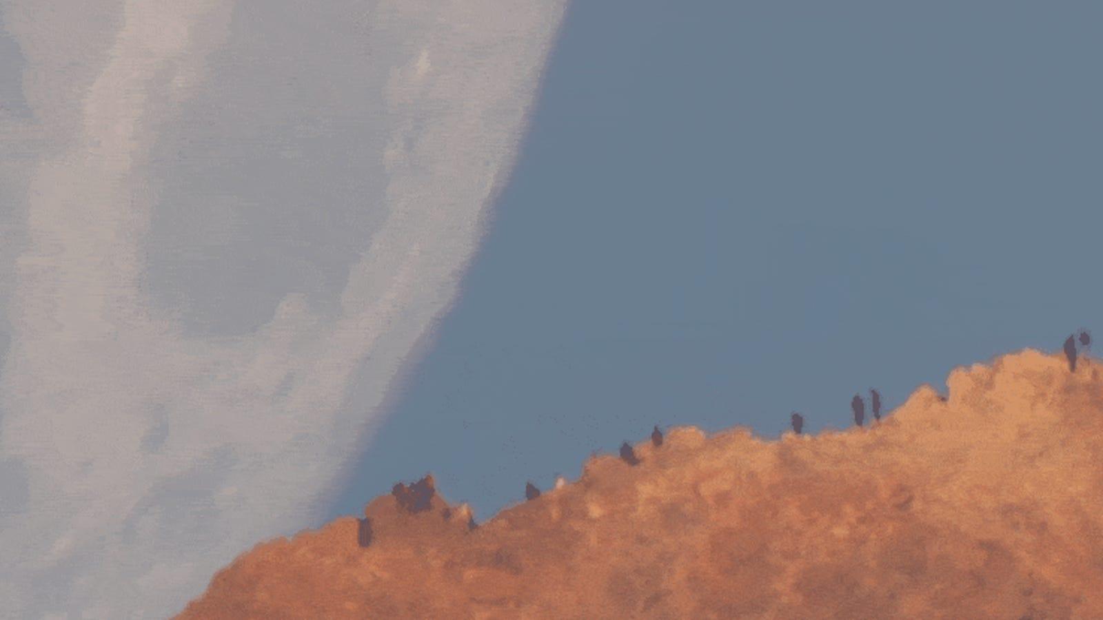 Este vídeo de una gigantesca Luna acercándose peligrosamente a la Tierra es completamente real