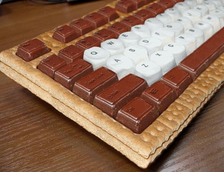 Illustration for article titled S'More Keyboard Would Not Survive 10 Minutes on My Desk