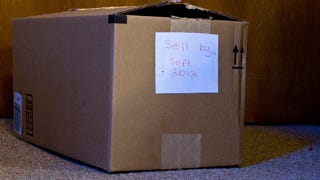 """Illustration for article titled Use the """"Sell By Box"""" Technique to Eliminate Clutter"""