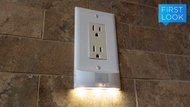 If You Can Turn a Screw, You Can Install These Networked Motion-Sensing Nightlights