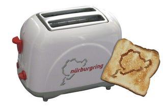 Illustration for article titled The Nürburgring Toaster: Frühstück Mit Karussell Und Schwalbenschwanz