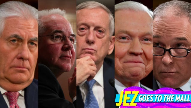Your Guide to Trump's Very White, Very Rich, Very Frightening Cabinet