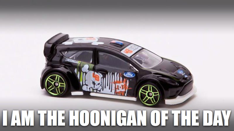 Illustration for article titled Win the Ken Block Hot Wheels car you won't find in stores on Black Friday