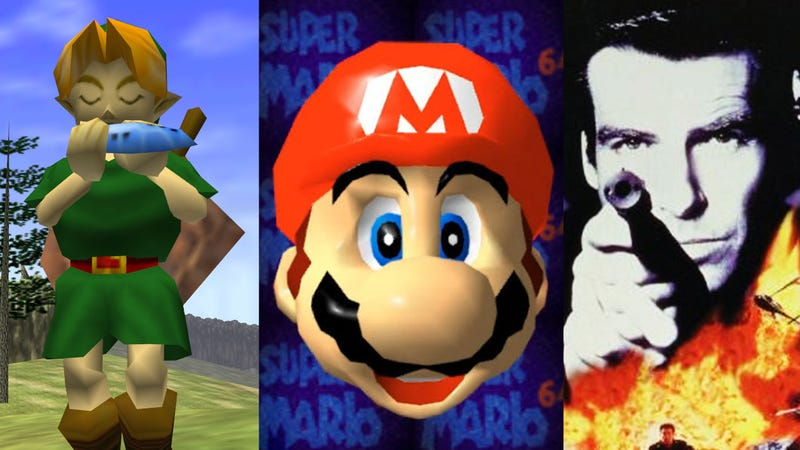Guy Beats Mario 64, Zelda, And Goldeneye Simultaneously In 51 Minutes