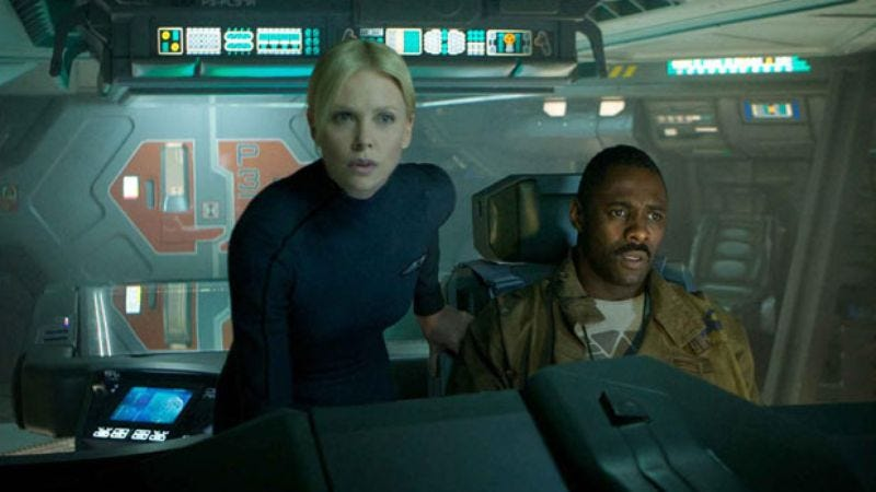Illustration for article titled The Prometheus teaser: Ridley Scott's alien movie that's not officially an Alien movie