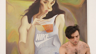 Illustration for article titled Petty Man Builds Art Career By Shitting on Fitness Star Adrianne Ho