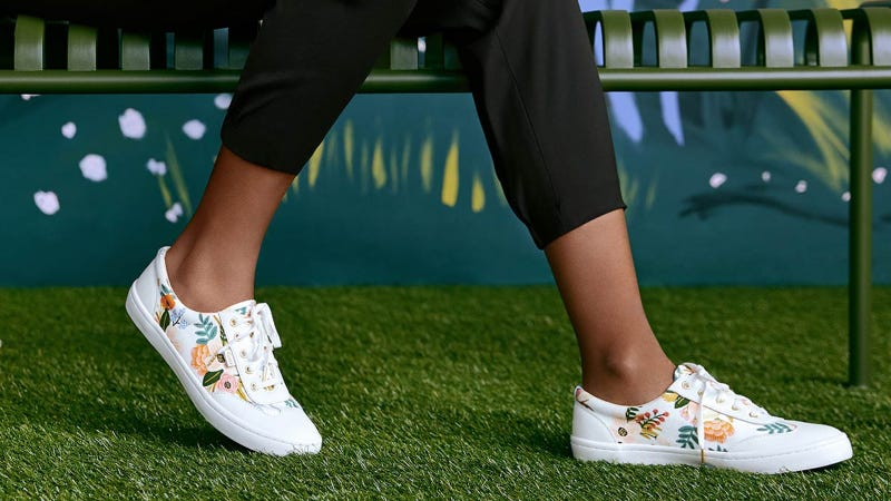 Keds x Rifle Paper Co. Tournament Lively Floral Sneaker