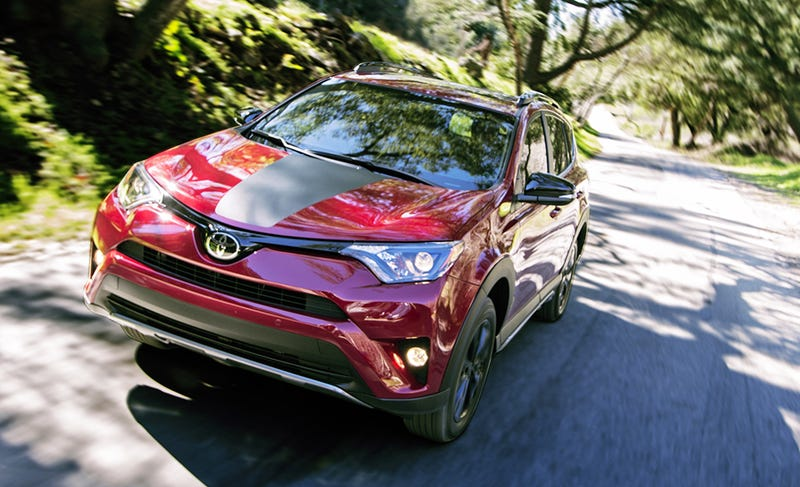 If You Get The 2018 Toyota RAV4 With Its Optional Lift Kit