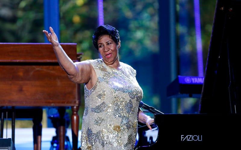 Aretha Franklin (Pool/Getty Images)