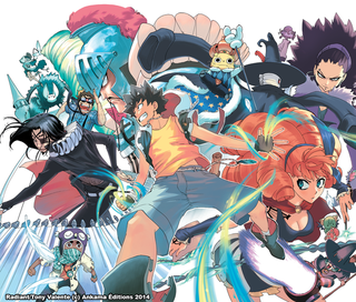 Illustration for article titled The Comic of Radiant is getting an Anime adaptation