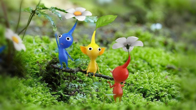 Illustration for article titled Nintendo will debut a Pikmin short film at the Tokyo International Film Festival