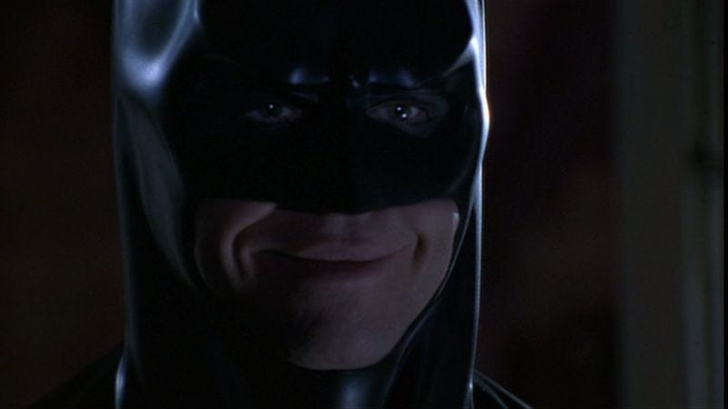 "Illustration for article titled ""Val Kilmer was the best Batman,"" says guy who had Val Kilmer play Batman"