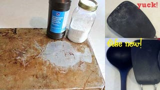 Baking Soda And Peroxide Get The Grime Off Of Cookware