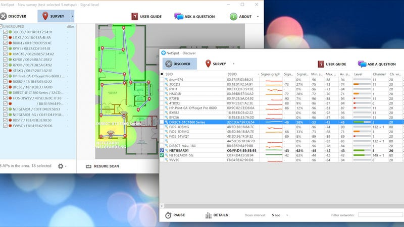 NetSpot, the Free Wi-Fi Mapping and Troubleshooting App