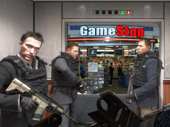 Illustration for article titled Armed Robbers Snatch 100 Copies Of Black Ops In GameStop Heist