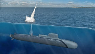 Illustration for article titled Is This Jumbo Diesel Electric Submarine A True Nuclear Alternative?