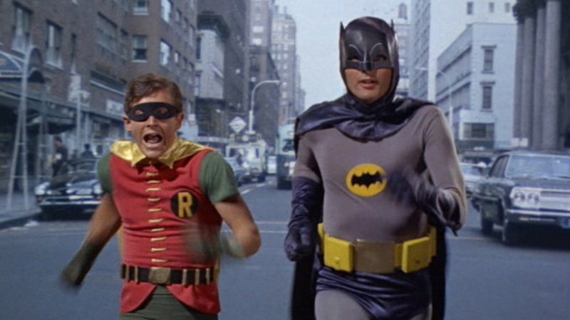 Batman and Robin play a small, but fun, role in the new Quentin Tarantino film.